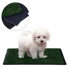 """3 Layers Dog Toilet Mat Dog Potty Trainer Pet Pad Training Grass Indoor 30"""""""