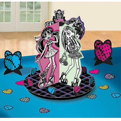 Monster High Party Decor (Monster High Table Decorating Kit 23 Piece Centerpiece Party)