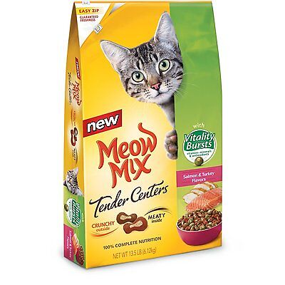 Meow Mix Tender Centers Salmon and Chicken ...