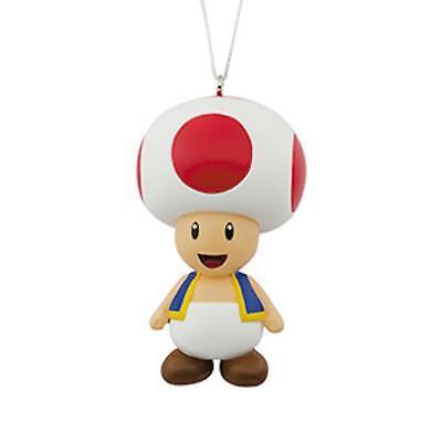 2018 Hallmark Toad - Super Mario Brothers Red Box Ornament RARE HTF