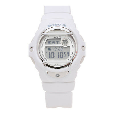 Casio Baby-G BG169R-7A Women's White Accent White Band Digital Casual Watch