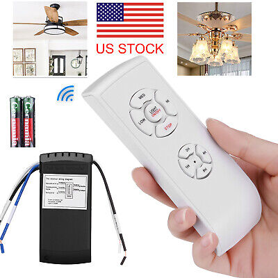 Universal Wireless 15M Timing Remote Control Kit For Ceiling Fan Lamp Light