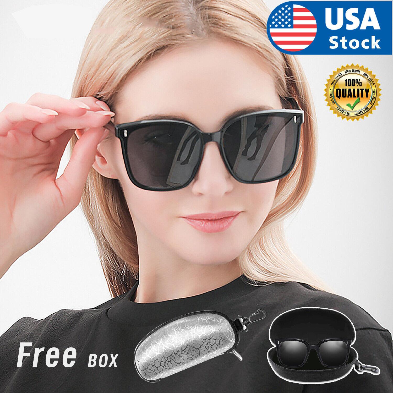 MENS WOMENS SUNGLASSES UNISEX GLASSES WAYFARE STYLE RETRO ALL BLACK SUNGLASS Clothing, Shoes & Accessories