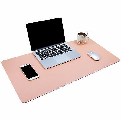 Dual-sided Multifunctional Desk Pad Waterproof Desk Blotter Protector Leather