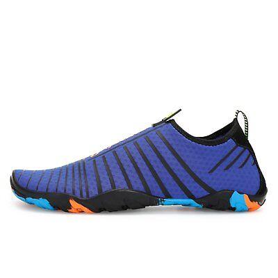 Voovix Men's Water Shoes Quick-Dry Barefoot Aqua Socks Unisex , US Size 11
