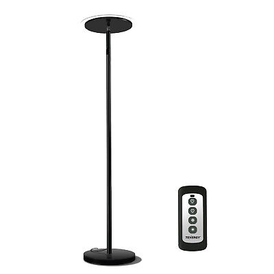 "Tenergy 70"" Torchiere Dimmable LED Floor Lamp Remote Controlled Standing Lamp"