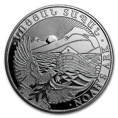 Armenia 1 oz Silver 500 Drams Noah's Ark BU (Random Year)