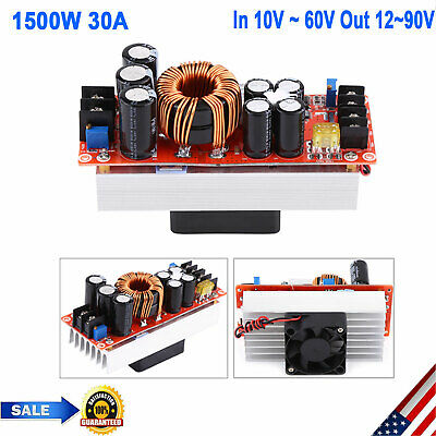 Dc-dc Boost Converter 1500w 30a Step-up Power Supply Module In 1060v Out 1290v