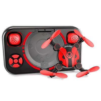 Foldable Mini Drone for Kids and Beginners,Pocket RC Nano Quadcopter with Altitu