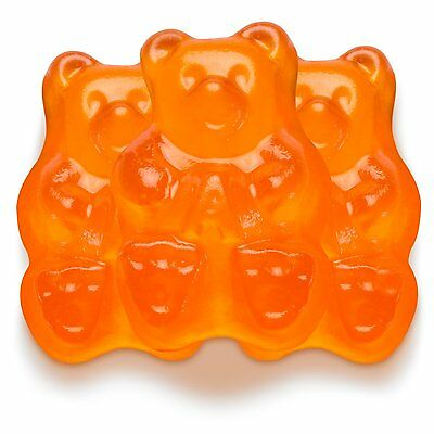 GUMMY BEARS ALBANESE ORANGE, 2LBS