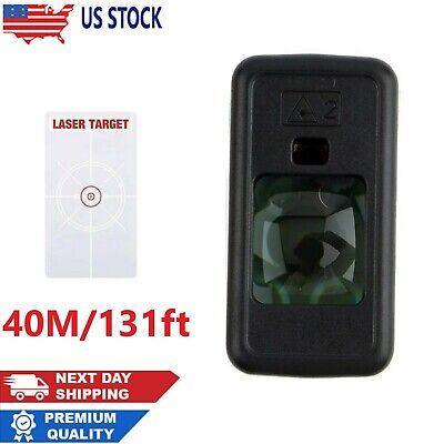 40m131ft Mini Digital Laser Distance Meter Range Finder Measure Diastimeter Usa