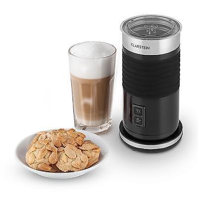 Milchaufschäumer Milchschäumer Aufschäumer 3in1 Macchiato Cappuccino Schwarz