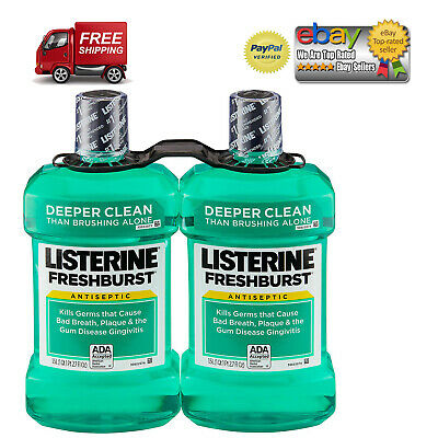 Listerine Freshburst Antiseptic Mouthwash **BEST DEALS IN