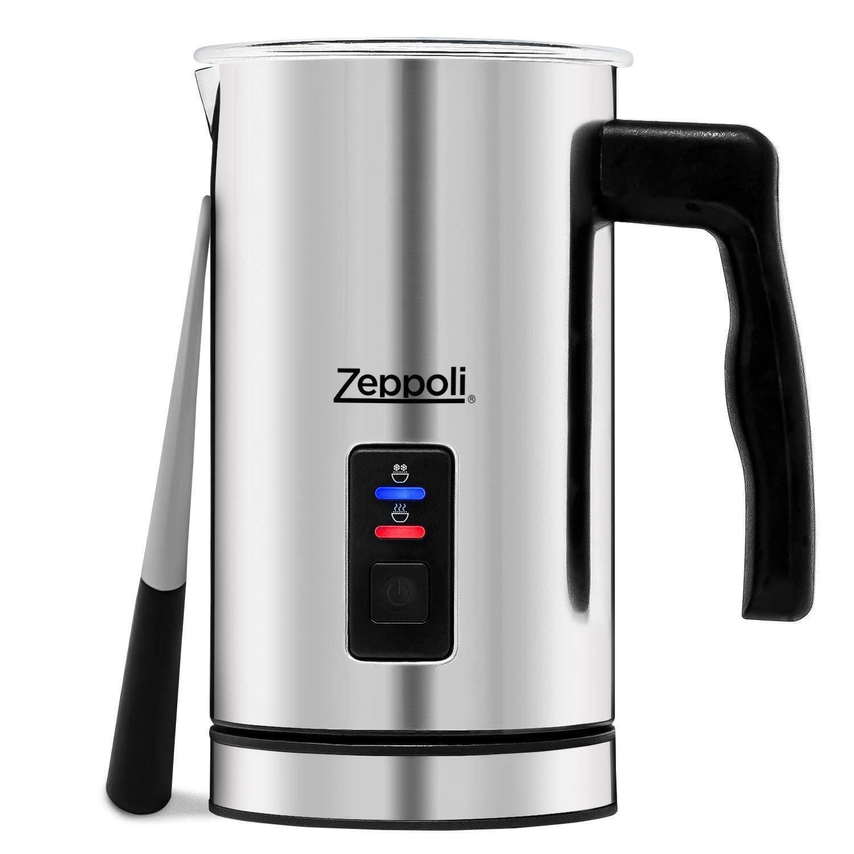 Zeppoli Milk Frother and Warmer - Automatic Milk Heater, Ele
