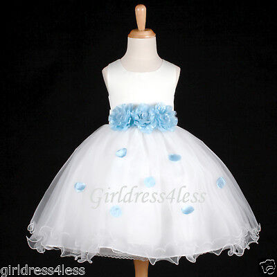 US Seller Ivory Halloween Princess Girl Costumes Baby Infant Party Dress