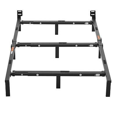 Queen King Full Twin Size 7 in Adjustable Bed Frame Platform Mattress Foundation