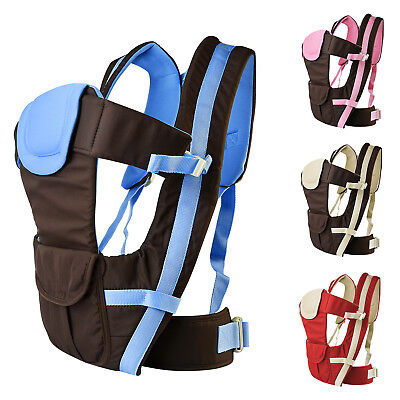Infant Newborn Baby Wrap - Newborn Infant Baby Carrier Breathable Ergonomic Adjustable Wrap Sling Backpack