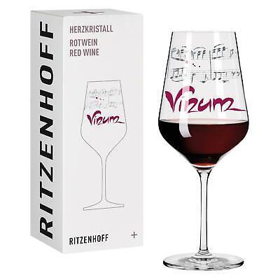 Ritzenhoff Herzkristall RED Rotweinglas 02 VINUM by Annett Wurm 2015