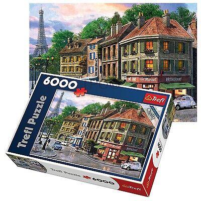 Trefl 6000 Piece Adult Large Paris Streets France Eiffel Tower Jigsaw Puzzle -