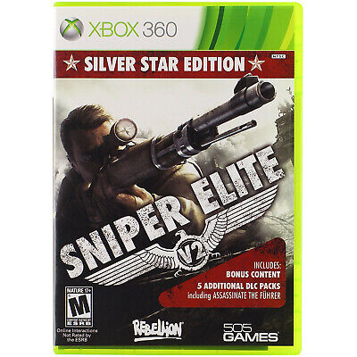 Sniper Elite V2 -  Silver Star Edition Xbox 360 [Brand New]
