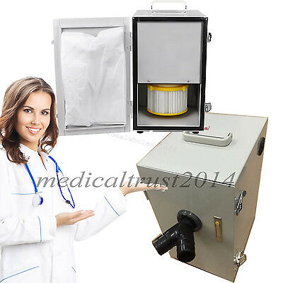 Dhlship Dental Digital 2 Row Double-row Dust Collector Collecting Vacuum Cleaner