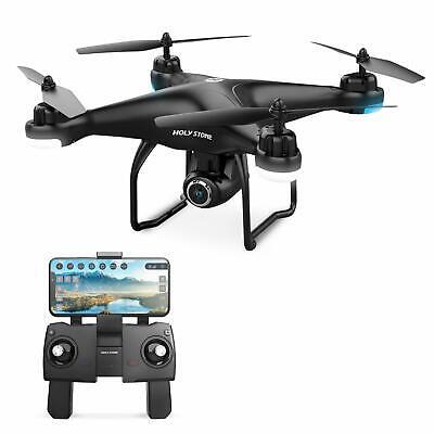 Holy Stone HS120D FPV Drones with 1080p HD Camera GPS RC Quadcotper Follow Me