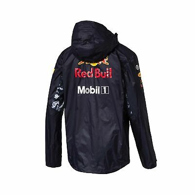 PUMA Red Bull Racing Formula One 2017 Mens Raincoat F1 JACKET Rain Coat Sz XL