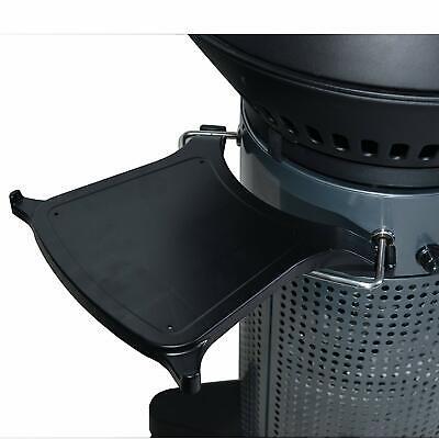 Fuego FEACS1 Element & Professional Clip-On Side Shelf Outdoor BBQ Accessories 1 Side Shelf
