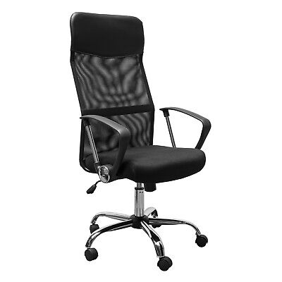 Executive Office Chair High Back Mesh Chair Seat Office Desk Chairs Height