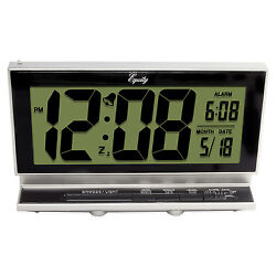 30041 Equity by La Crosse Battery Powered Smartlite 2 LCD Digital Alarm Clock