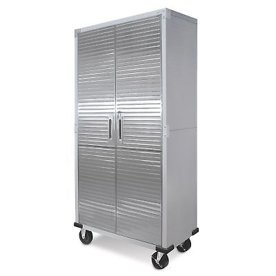 Stainless Protect Storage Cabinet Heavy Duty Metal Rolling Garage Tool Organizer