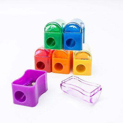 144pcs Miniature Assorted Plastic School Pencil Sharpener Classroom Supplies Lot