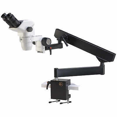 Accu-scope Binocular Zoom Stereo Microscope With Flex Arm Stand