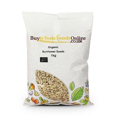 Organic Sunflower Seeds 1kg   Buy Whole Foods Online   Free UK Mainland P&P