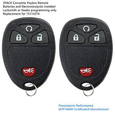 2 Fit Chevrolet HHR 2006 2007 2008 2009 2010 2011 Keyless Entry Remote Key Fob Chevrolet Hhr 2006