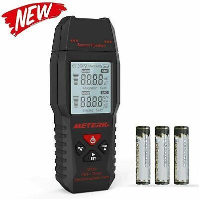 Meterk Mk54 Emf Tester Digital Lcd Electromagnetic Field Radiation Detector New