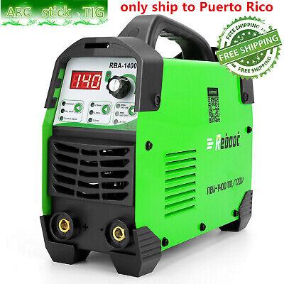 Arc 140 Welder 110v 220v Mma Lift Tig Inverter Digital Stick Welding Machine