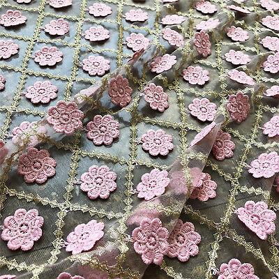 Ausverkauf Stickereien Kostüm Basteln Tüll Blumen Hochzeit Abendkleid Lace Stoff