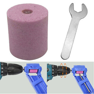 Corundum Grinding Wheel Drill Bit Sharpener Titanium Portable Drill Power Tools