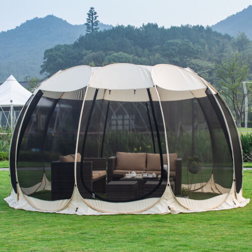 Alvantor Screen House Room Pop Up Canopy Gazebo Camping Tent