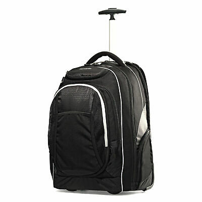 "Samsonite Tectonic 21"" Wheeled Carry On Backpack Black 50723"