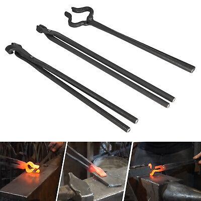 Knife Making Tongs Set Blacksmith Bladesmith Knife Tong Anvi