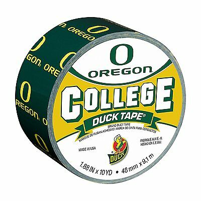 Oregon - College Duck Tape 1.88 Inch X 10 Yd Duct Tape