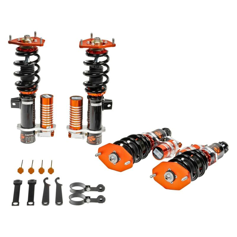 "For BMW Z3 98-02 Coilover Kit 0.5""-2.5"" x 0.5""-2.5"" Circuit Pro Front & Rear"