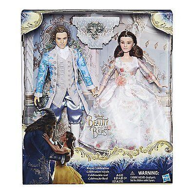 Disney Beauty and the Beast Royal Celebration Princess Doll ~ Belle & Prince
