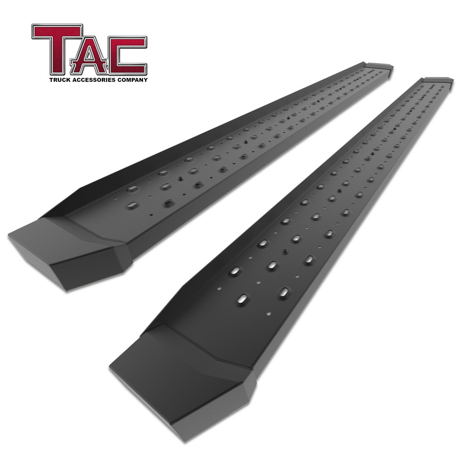 "TAC Side Steps Running Boards Fit 2019 Dodge Ram 1500 Crew Cab Truck Pickup 3/"" Black Side Bars Nerf Bars Step Rails Running Boards Off Road Exterior Accessories 2 Pieces Excl. 2019 Ram 1500 Classic"