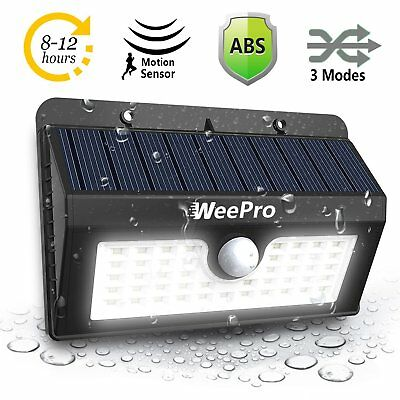 45 Solar LED Light Outdoor Garden Waterproof Wireless Security Motion 3 Modes