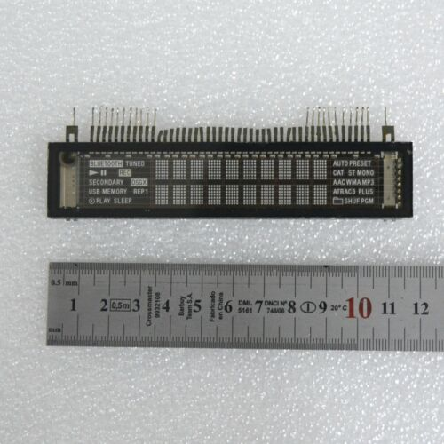 Futaba 12-BT-213GINK 1-519-939-11 VFD 5×7-Matrix Display Tube Nixie clock era