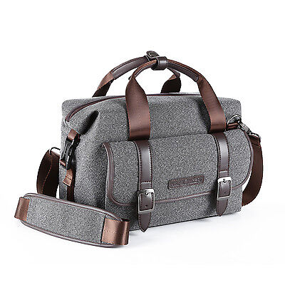 Shoulder Camera Bag Carry Case for Canon Nikon Sony DSLR Mirrorless K&F Concept