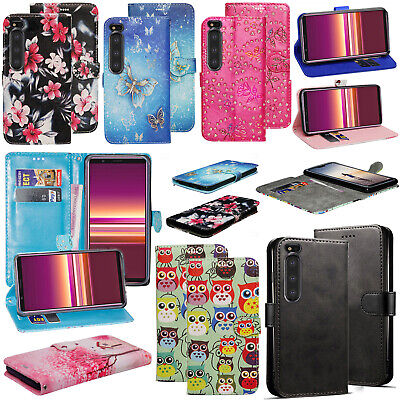 For Sony Xperia 5 10 X XA XA1 L1 L2 L3 XA2 XZ E5 Leather Wallet Phone Case Cover